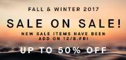 2017FW SALE