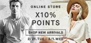 NEW ARRIVALS ポイント10%