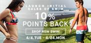 SWIM先行 10%POINT還元