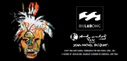 BILLABONG LAB×Andy Warhol×Jean-Michel Basquiat